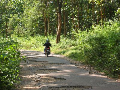 half road