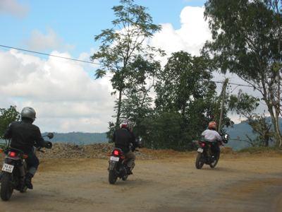 uphill to Kohima