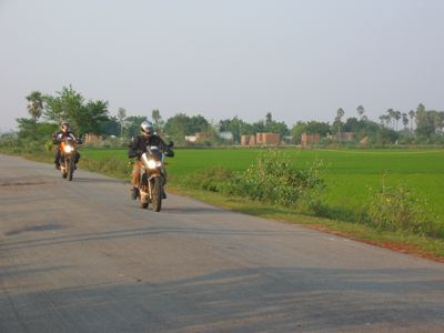 Dinesh and I leaving Vakadu