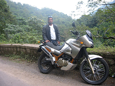 At the western ghats