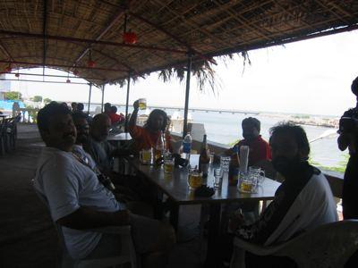 lunch in Diu
