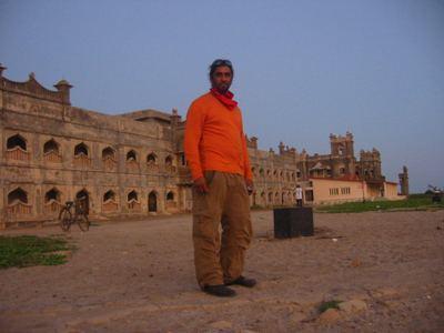 Chorwad palace ruins