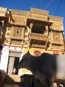 Inside fort city, Jaisalmer