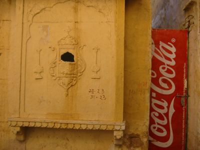 sign of the times, Jaisalmer