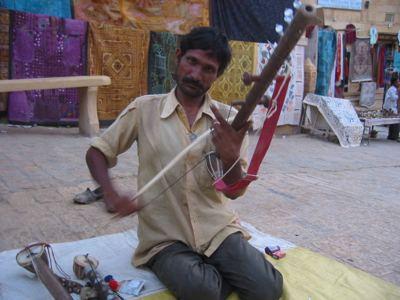 folk musician, Jaisalmer