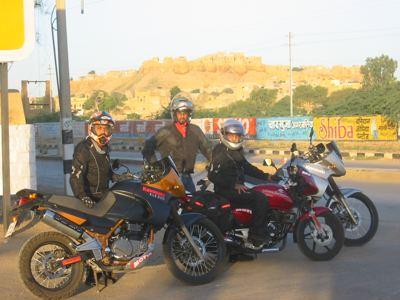 leaving Jaisalmer