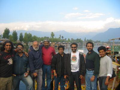 at Dal lake