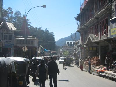 downtown manali