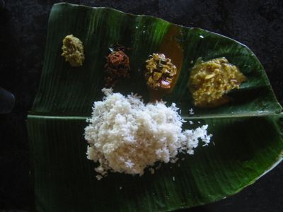 traditional andhra meal