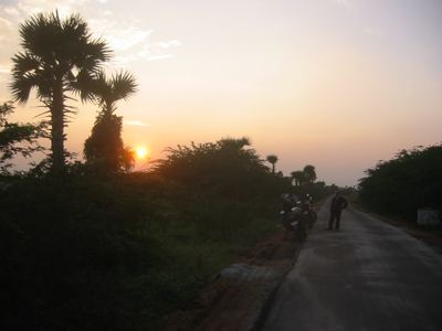 sunset, Tamil Nadu
